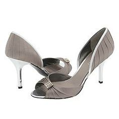 My all time fav shoes.  I think it's time for a new pair    Nine West Jellzey (Medium Grey/Silver Satin) -...
