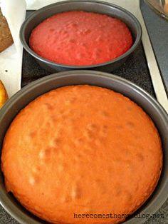 Rainbow Cake Tutorial - Here Comes The Sun