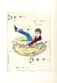 Gravures & Estampes | Atsuko Ishii | Choc élastique | Tirage d'art en série limitée sur L'oeil ouvert Art Life, Artwork, Mixed Media, French, Artist, Painting, Inspiration, Etchings, Prints