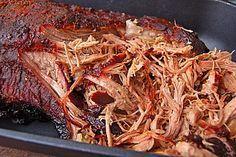 Pulled Pork, zarter Schweinebraten aus dem Ofen - fast original, nur ohne Grill (Rezept mit Bild)   Chefkoch.de
