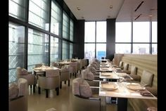 Giorgio Armani opens new wine lounge in Tokyo. Amazing views from Ginza Tower.