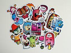 30 Cool Logo Sticker Promotions | NextDayFlyers Blog