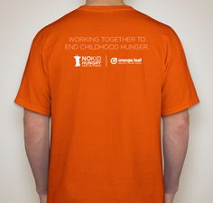 1 out of 5 kids in America struggle with hunger. Buy a t-shirt and help Orange Leaf reach their goal to provide one million meals to hungry kids. 100% of proceeds from these shirts will go directly toward Share Our Strength's No Kid Hungry campaign to help make no kid hungry a reality in America. As an added bonus for your support, you will receive a coupon for a FREE* cup of froyo (with a purchase of a cup that is of equal or greater value) when you purchase a t-shirt for $10.