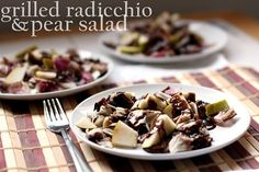 Grilled Radicchio and Pear Salad 195