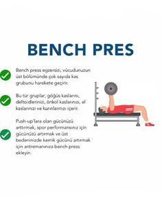 """Fitness Bilimm's Instagram post: """"Görmesini istediğin Arkadaşına gönder👇👇 @fitness_bilimm 👨💻 . . Daha fazlası için takip edebilirsiniz @fitness_bilimm 👨💻 ✅Beğenmeyi…"""" Bench Press, Gym Workouts, Push Up, Fitness, Gym Equipment, Sports, Instagram, Hs Sports, Workout Equipment"""