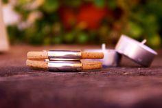 Pulsera mujer, pulsera vegana, pulsera corcho, regalo original, regalo especial, pulsera natural. de OneTreeJewellery en Etsy