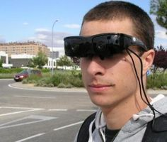 Goggles a virtual reality  http://www.naturalhealthstore.us/virtual-reality-goggles/