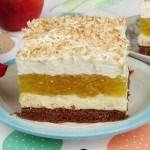 Prajitura Delicia Polish Recipes, Food Cakes, Desert Recipes, Vanilla Cake, Cake Recipes, Mousse, Cheesecake, Good Food, Cooking Recipes