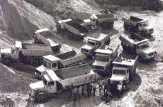 Shetland Island Councils fleet of Magirus Deutz dumpers Busses, Birds Eye View, Worlds Largest, Indiana, Cocktails, Trucks, Cabin, Island, Eyes