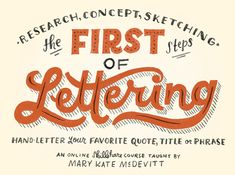 NEW FONTS + NEW LETTERING CLASSES!