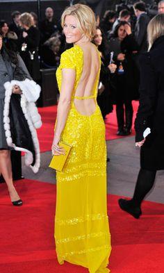 Elizabeth Banks' 10 Best Red Carpet Looks - In Bill Blass from #InStyle