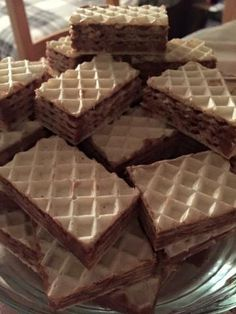 Christmas Candy, Christmas Baking, Condensed Milk Cake, No Bake Desserts, Biscotti, Waffles, Food And Drink, Pie, Chocolate