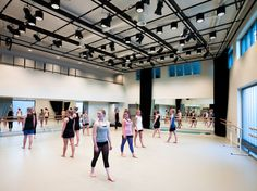 VÅGEN high school and SANDNES Culture Academy | Link Arkitektur | Photo: Hundven-Clements Photography | Archinect