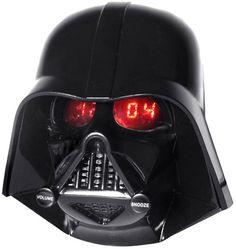 "#DarthVader led alarm clock ""Your lack of consciousness disturbs me"" #StarWars"