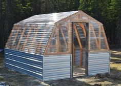 Inexpensive DIY Greenhouse Project