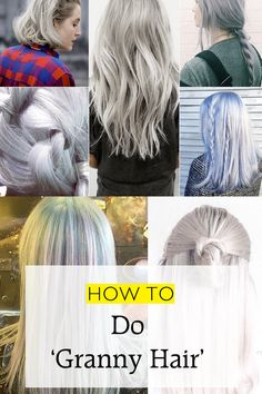 The Grey Hair Trend | Hair | Grazia Daily