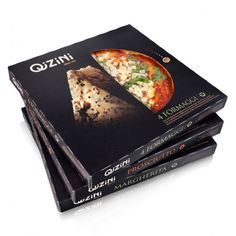 """Bom design é isso: """"eu vou comprar essa pizza porque ela parece ser deliciosa! olha só os ingredientes ali gigantes, que bonitos, frescos, limpos!""""  A qualidade na hora de fazer uma embalagem faz a diferença!!!"""