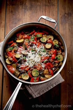 The Perfect Ratatouille ~ The Healthy Chef (Teresa Cutter)