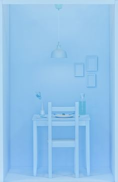 The calm blue Light Blue Aesthetic, Blue Aesthetic Pastel, Rainbow Aesthetic, Aesthetic Colors, Bedroom Wall Collage, Style Deco, Himmelblau, Blue Pictures, Blue Wallpapers