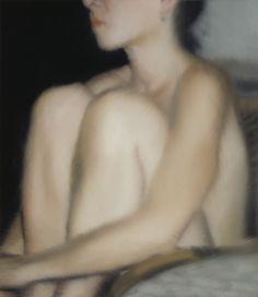 Torso, Gerhard Richter 1997, 55 cm x 48 cm, Werkverzeichnis: 844-1 Öl auf Aluminium