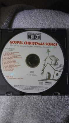 GOSPEL CHRISTMAS SONGS Clearmont Kids CD