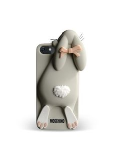 I so need this Moschino Violetta rabbit iPhone cover!
