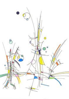 #2017 #tria #pantone #promarker #letraset #letrasetpromarker #pantone #drawing #dessin #colors #couleurs #indianink #encredechine #marker #marqueur #abstract #abstrait #artabstrait #abstractart // 2018-021