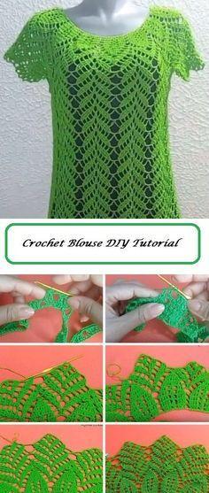 Beautiful Blouse Crochet Tutorial