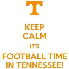 It's Football Time in Tennessee!!!