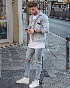 #denim #denimlove #denimstyle #RAW #Jeans #richtig #kombinieren #männermode #trend | weitere stilbewusste Denim-Styles auf: davefox87 | more denimtrends on: davefox87