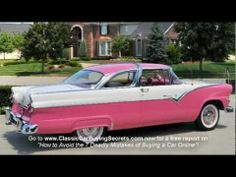 ▶ 1955 Ford Crown Victoria Classic Muscle Car for Sale in MI Vanguard Motor Sales - YouTube