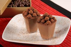 Espuma de Chocolate / Crédito: