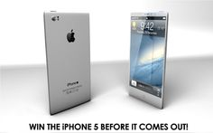 Win the NEW #iPhone5 before it even comes out! We'll even wait in line for you.