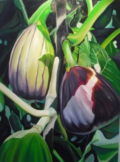 'convent figs'  Oil on Canvas