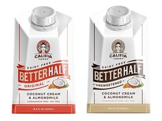 The Guide to Dairy Free Coffee Creamer: Numerous vegan-friendly and soy-free options (Califia Farms Better Half pictured)