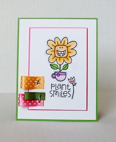 Plant Smiles, Paper Smooches