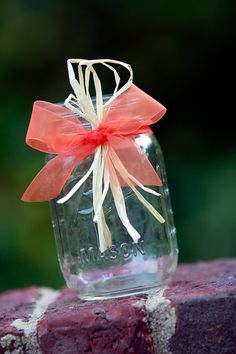 Autumn Wedding Fall Wedding Mason Jars Rustic by SweetSights, $35.00