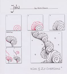 Joki pattern - Kim & Zo Creations More