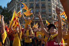 National Day of Catalonia, Barcelona
