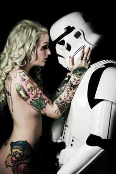 final fantasy tattoos  and i like the stormtrooper too