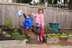 Want to garden with the kiddos? Check out these tried and true tips.