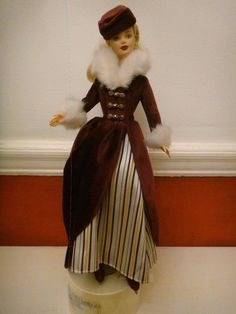 2000 BARBIE VICTORIAN ice skater doll SPECIAL EDITION / ICE SKATING musical box in Dolls & Bears, Dolls, Clothing & Accessories, Fashion, Character, Play Dolls   eBay