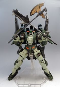 GUNDAM GUY: HG 1/144 Full Armor Gundam Gusion Rebake - Customized Build