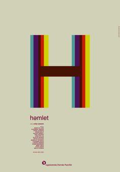 Hamlet — Theatre Poster