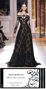 Couldn't help it...This is a DRESS. It may be a black wedding dress, but it is a gorgeous one indeed