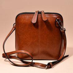 Women's Genuine Leather Cross Body Shoulder Bag – Earthmade Goods Co. Women's Genuine Leather Cross Body Shoulder Bag