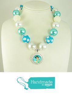 Baby, Toddler Bubblegum Necklace, USA, Chunky Infant Beaded Neckwear, Princess Jasmine Inspried Pendant, Girl's Aqua Necklace, Kids Fashion Jewelry. from Baby Girl Jewelry https://www.amazon.com/dp/B01MS3DE24/ref=hnd_sw_r_pi_dp_GIL9ybH9C7333 #handmadeatamazon