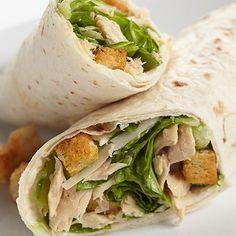 Tuna Caesar Wrap #seafoodswap