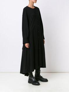 Yohji Yamamoto open cuff dress