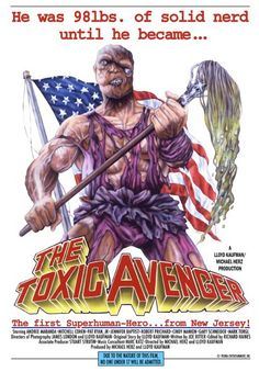 #toxicavenger #dvd by #dvdlab